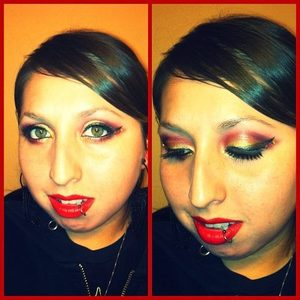 My Iron Man inspired look in honor of the new Avengers movie =p