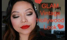 Glam Vintage Hollywood Look (Cut Crease) | Lorac Pro Palette