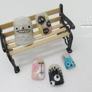 Cute little Totoro nail art
