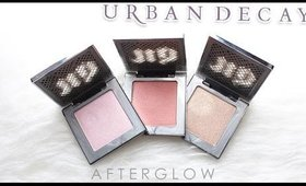 Review & Swatches: URBAN DECAY Afterglow Powder Highlighters | Dupes!