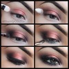Coppering Smokey Eye Pictorial