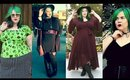 FALL FASHION Plus Size Haul: Witchy Maxi Dresses & Pin Up Style!
