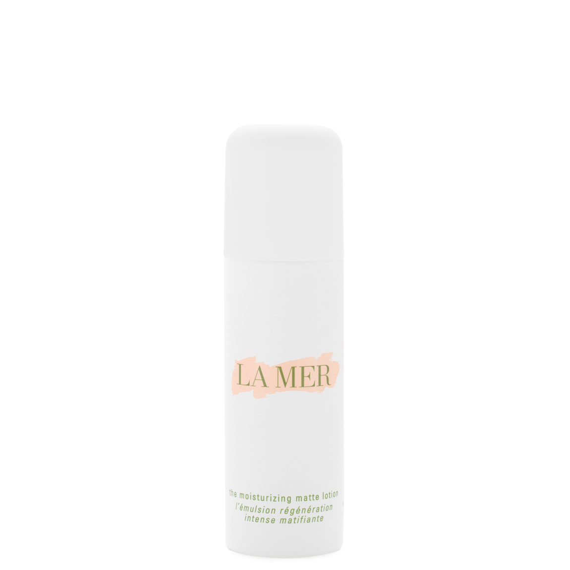 La Mer The Moisturizing Matte Lotion product smear.