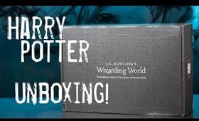 J.K. Rowling's Wizarding World July 2017 Unboxing|| Defense Against The Dark Arts