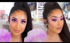 THE LILAC LOOK YOU GUYS REQUESTED! Huda Beauty Lilac Palette 4K Tutorial