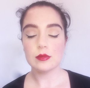 In the Diploma Of Screen And Media we had to recreate the popular makeup style worn by women in the 1950's, this is my recreation of a 1950's makeup that was popular for women at the time.