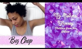 The Big Chop: Starting My New Natural Hair Journey