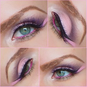 A look I made for Valentin's day. As always you can fin it in my blog with Tutorial and complete product list:  http://mariabergmark.wordpress.com