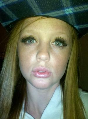 long lashes are so pretty
