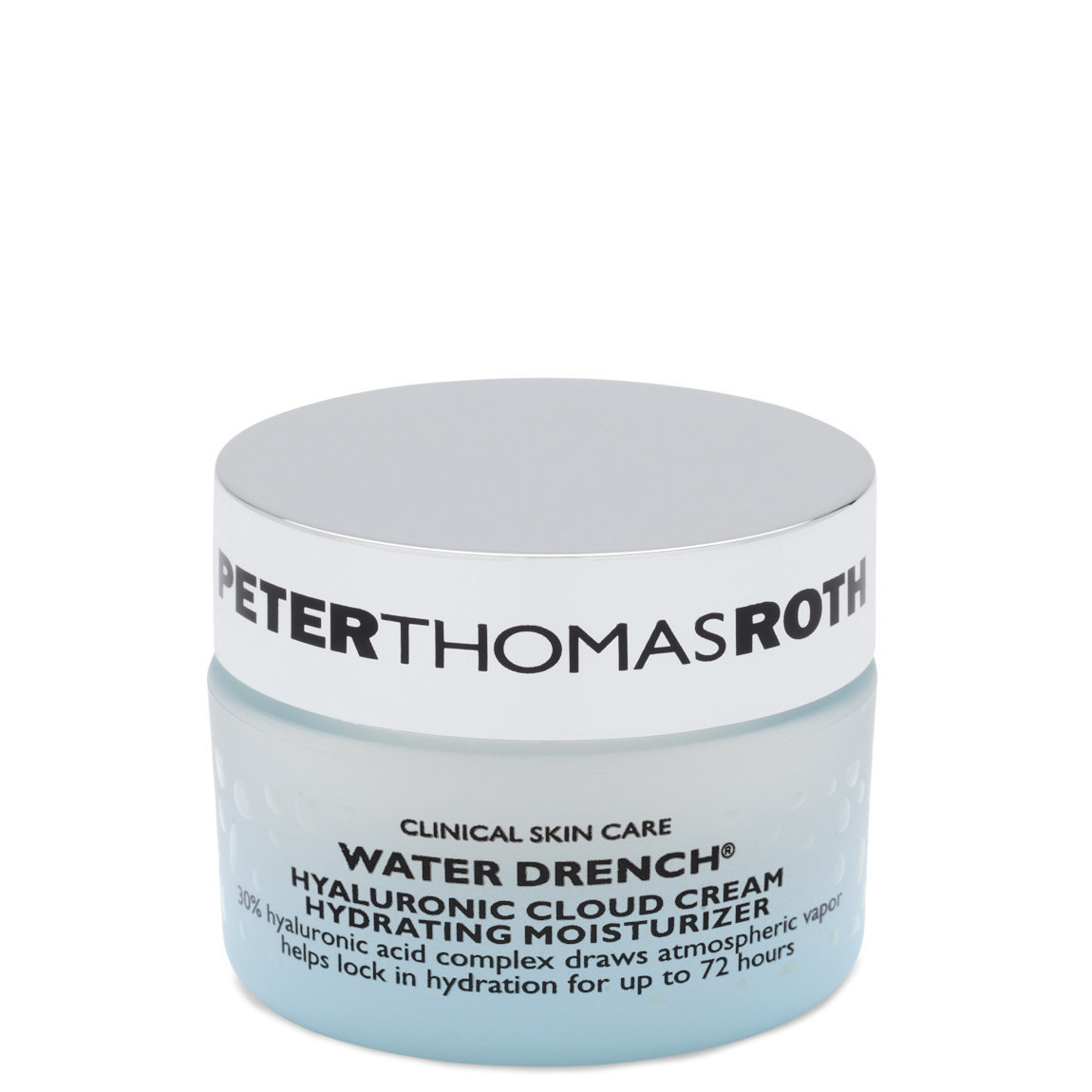 Peter Thomas Roth Water Drench Hyaluronic Cloud Cream Hydrating Moisturizer 0.67 oz product swatch.