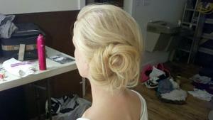 Emily's hair...