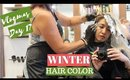 NEW HAIR COLOR FOR WINTER   Vlogmas Day 17