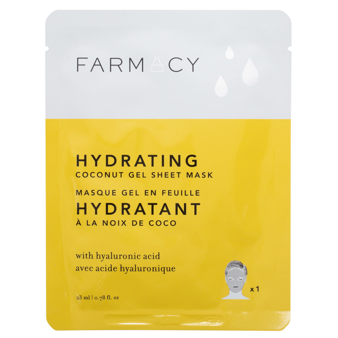 Farmacy Coconut Gel Sheet Masks Hydrating alternative view 1 - product swatch.