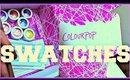 COLOURPOP COSMETICS | REVIEW + SWATCHES 14 COLOURS
