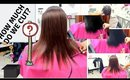 Silk Press and Blunt Cut on THIN HAIR!