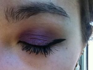 One day, I WILL do perfect winged eyeliner!