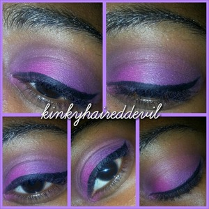 playing around with my new eyeshadow from bh cosmetics