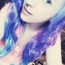 purple hair c;