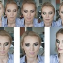 Step By Step Green And Brown Smokey Eye