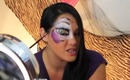 NYX Face Awards Top 30...quick face paint tutorial
