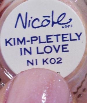 KIM-PLETELY IN LOVE