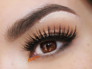 super simple look with House of Lashes Noir Fairy lashes: http://www.maryammaquillage.com/2013/04/spring-style-casually-retro.html