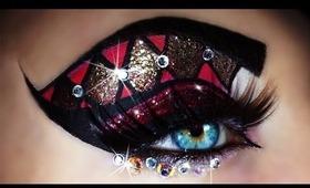 Carnival - Mardi Gras Makeup Tutorial