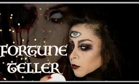 FORTUNE TELLER (HALLOWEEN MAKEUP TUTORIAL)