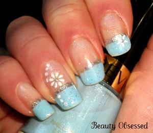 Holiday Themed Nails 2 Winter Wonderland