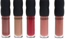 Bare Escentuals' Natural Lipgloss Collection
