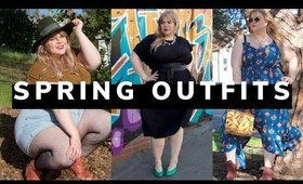 outfits for spring with City Chic Madewell Torrid Plus Size Style