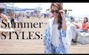 Styling Summer Shorts / Summer Lookbook
