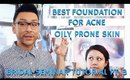Best Foundation for Acne Prone Oily Skin | Bridal Seminar Pt. 3 | mathias4makeup