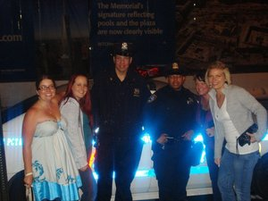 NYPD with the MARK Girls