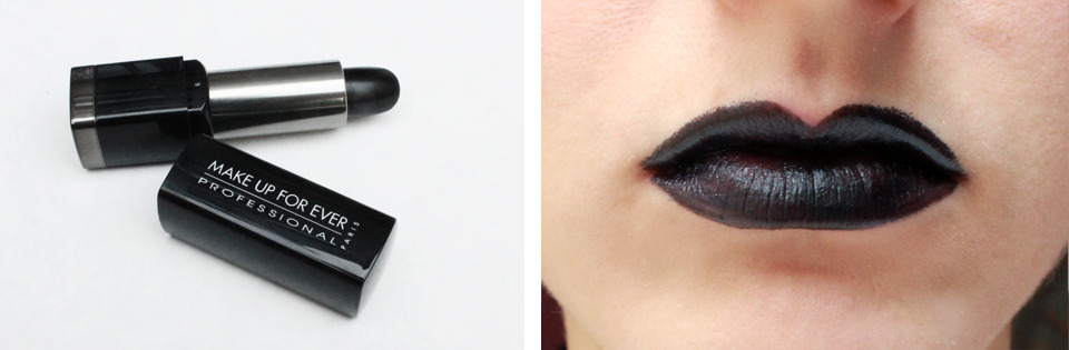 Best Black Lipstick: Make Up For Ever