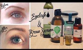 DIY Eyelash & Brow Hair Growth Serum