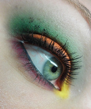Halloween Colours Using Sugarpill Cosmetics