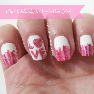 Full description and more photos up on the blog http://www.hairsprayandhighheels.net/2013/02/on-wednesdays-we-wear-pink-notd_13.html