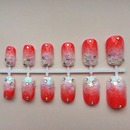 Ombre Japanese 3D nail art