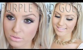 GRWM Wearable Gold & Purple! ♡ Shaaanxo