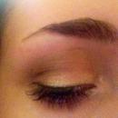 Natural gold eye