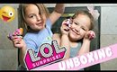 LOL Surprise Doll Unboxing with Marin and Ellie