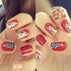 Christmas nails :3