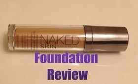 Urban Decay NAKED SKIN Review & Application