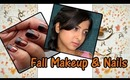 Easy nails and makeup for fall/school | (Colorfulonline.com)
