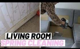 5 PLACES TO SPRING CLEAN IN YOUR LIVING ROOM UK