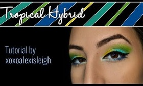 Tropical Hybrid - Sugarpill Makeup Tutorial