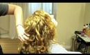 Long Layer Haircut on Curly Wavy Hair: Hair Tutorial