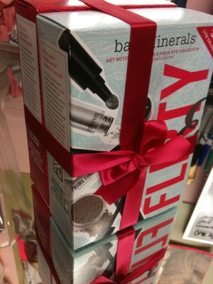 bare minerals flirty & fun (nordstrom exclusive) and love & happiness (35th anniversary)