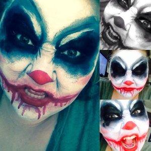 My attempt at a different kind of joker. I love it lol so yeah <3